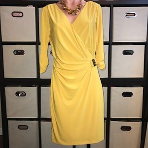 TAHARI Vibrant Yellow Dress !!!